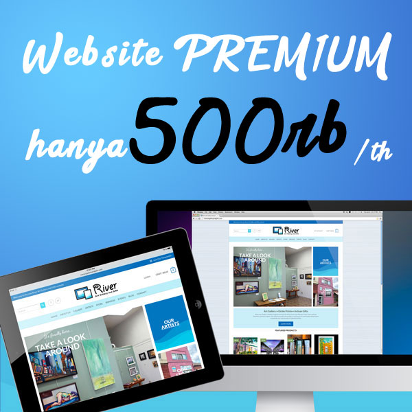 PROMO Website Premium Hanya 500rb